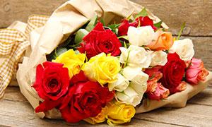 Ehrungen Blumenstrauß