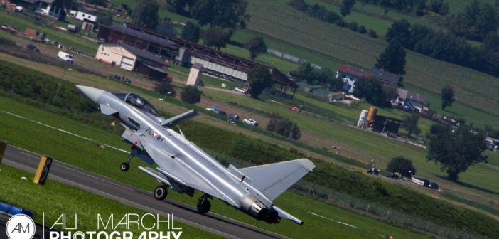 Überschalltraining der Österreichischen Luftstreitkräfte vom 13.-24. Mai 2019