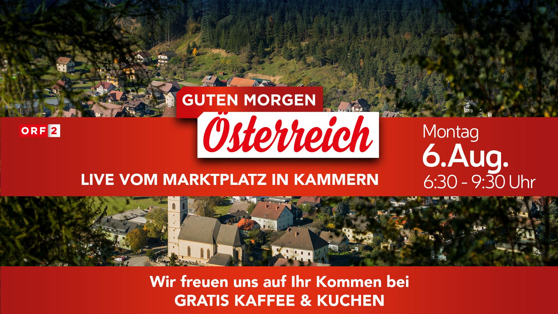 Guten Morgen österreich Live Am 06082018 In Kammern