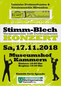 Flyer 2018 Stimm-Blech