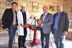 Gratulation Steinrisser Erich - 25 Jahre