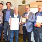 GR Markus Stabler, Mag. Alexander Sumnitsch, Gerold Skudnig, Bgm. Karl Dobnigg und Vzbgm. Johannes Nimpfer