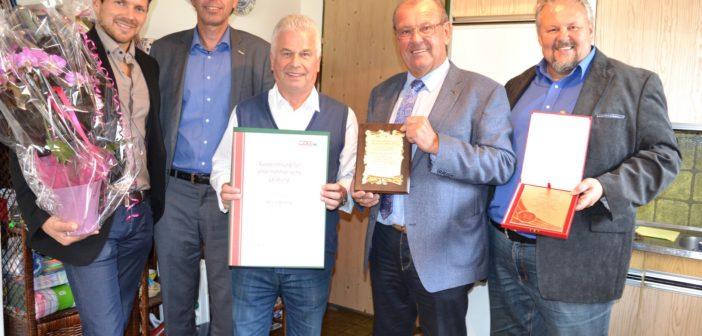 35 Jahre Versicherungsmakler/-berater Gerold Skudnig