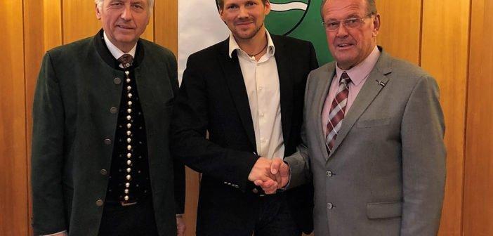 Markus Stabler folgt Hannes Nimpfer als Vizebürgermeister nach