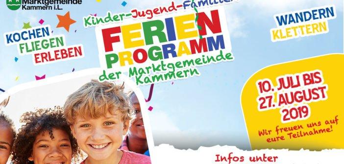 Kinder-Jugend-Familien FERIENPROGRAMM 2019