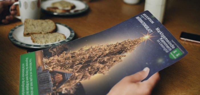 Die Gemeindezeitung 2019 (Weihnachtsausgabe) ist da!