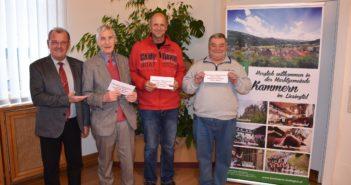 """Bürgermeister Karl Dobnigg belohnte zum 15. Mal """"offene Augen"""" für Kammern"""