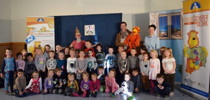 """Kindergarten Kammern schaut """"bärenstark"""" auf die Sicherheit der Kinder"""